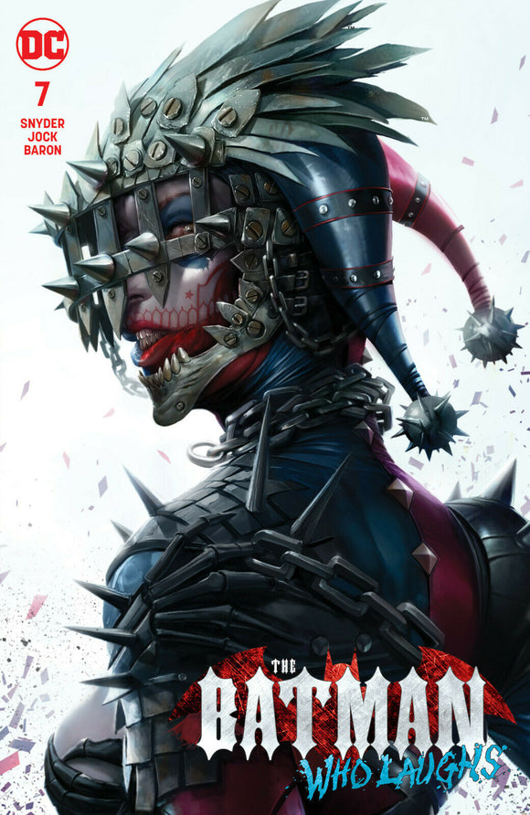 BATMAN WHO LAUGHS #7 Mattina TRADE DRESS Exclusive!! - Mutant Beaver Comics
