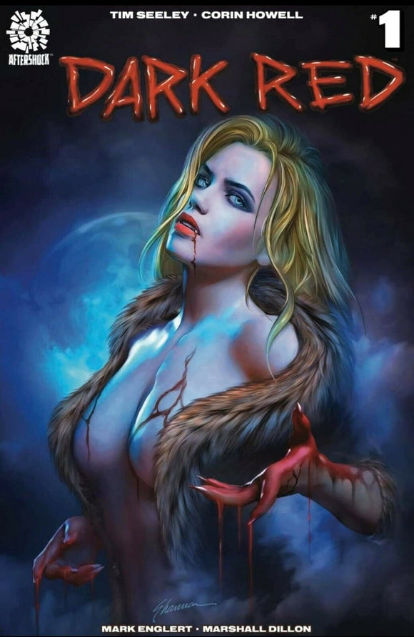 DARK RED #1 Shannon Maer TRADE DRESS Anniversary Edition! ***IN STOCK!*** - Mutant Beaver Comics