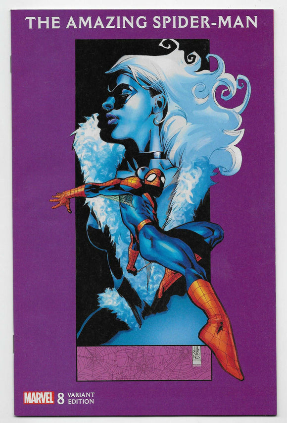 AMAZING SPIDER-MAN #8 JG Jones BLACK CAT Variant - Mutant Beaver Comics