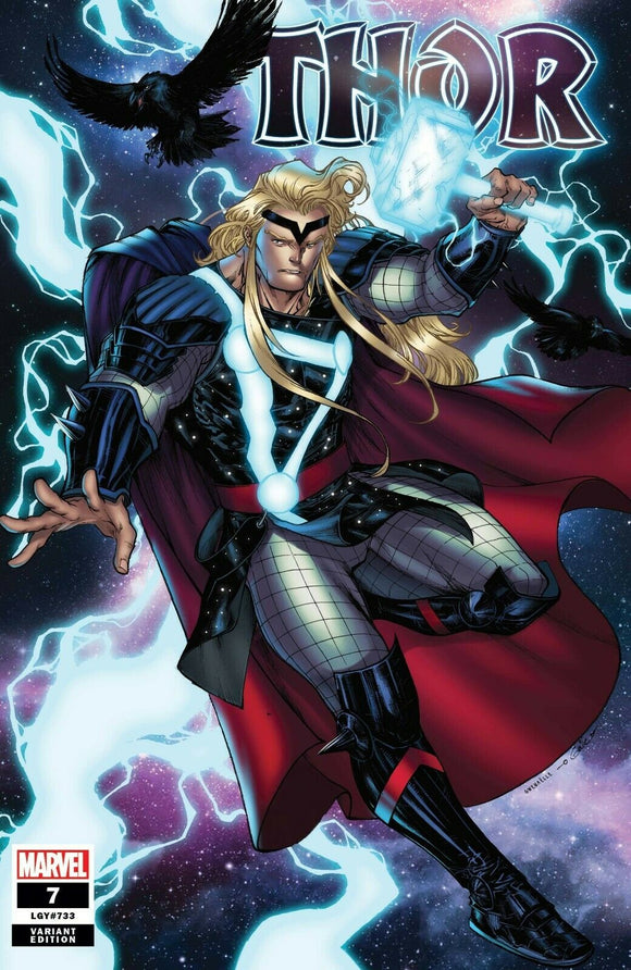 THOR #7 SHARP 1:25 RATIO VARIANT! ***Only 2 Available!*** - Mutant Beaver Comics