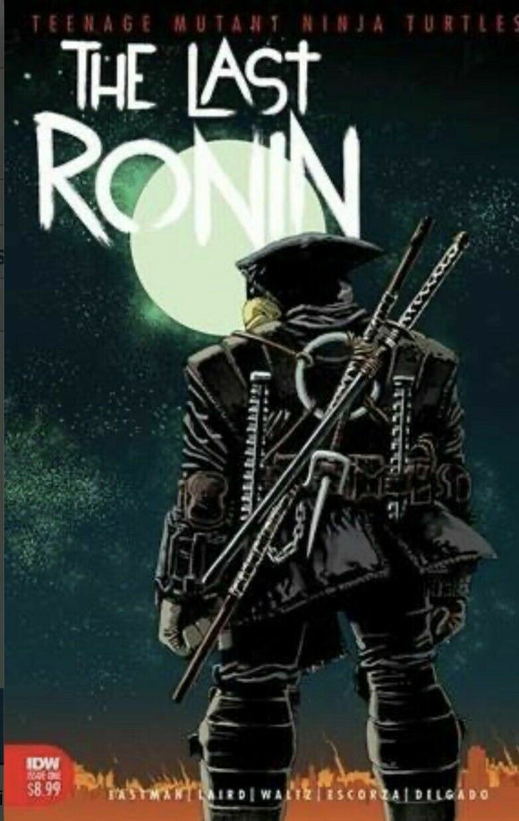 TMNT THE LAST RONIN #1 2nd Print (IDW) ***IN STOCK NOW!!*** - Mutant Beaver Comics