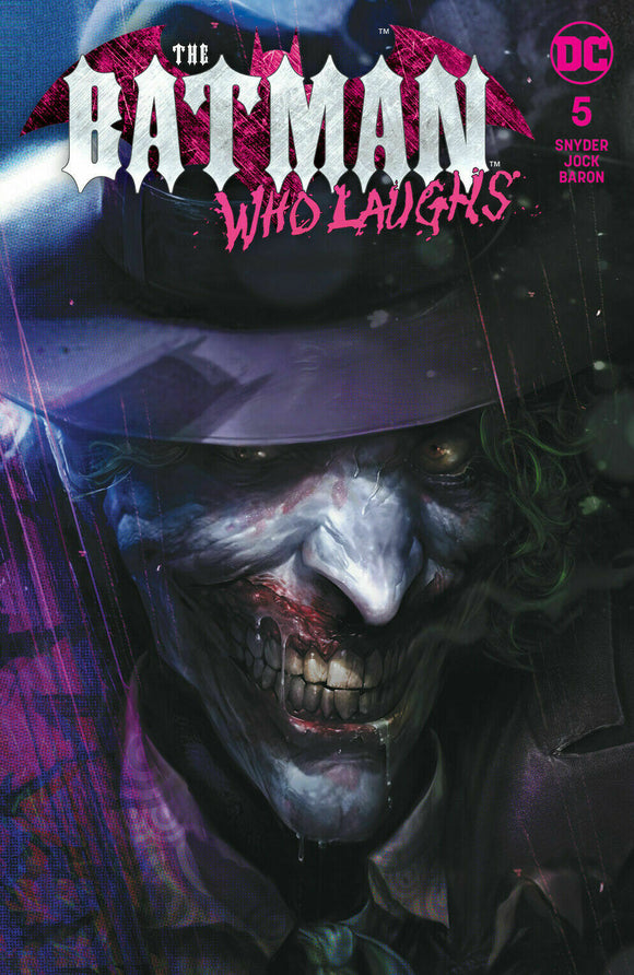BATMAN WHO LAUGHS #5 Mattina TRADE DRESS Exclusive! - Mutant Beaver Comics