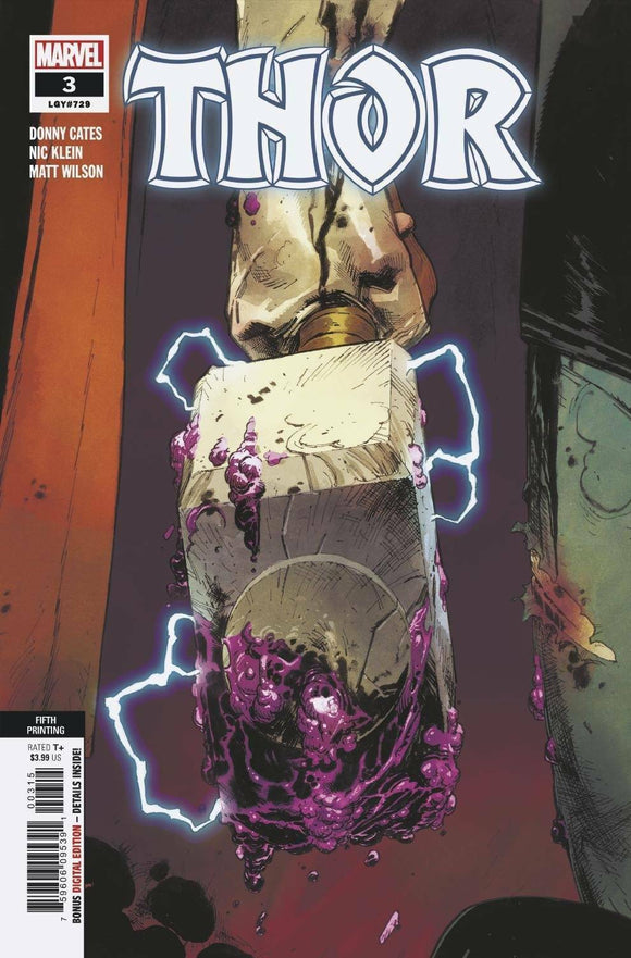 THOR #3 5TH PRINT VARIANT - Mutant Beaver Comics