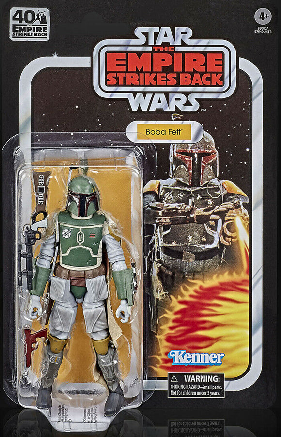 Star Wars Black Series 40th Anniversary Boba Fett Bounty Hunter ESB 6