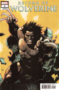 RETURN OF WOLVERINE #1 Yu 1:25 Ratio Variant - Mutant Beaver Comics