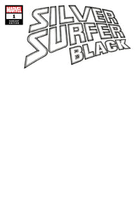 SILVER SURFER BLACK #1 Sketch Blank - Mutant Beaver Comics