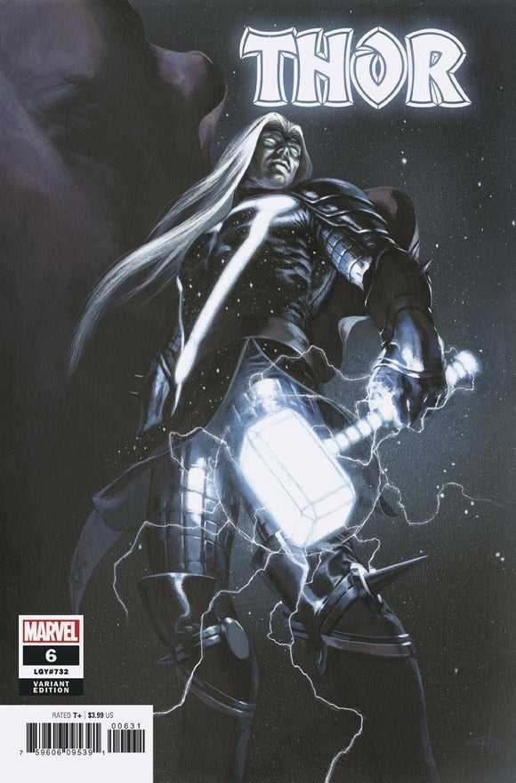 Pre-Order: THOR #6 Dell 'Otto 1:50 BLACK WINTER Ratio Variant!