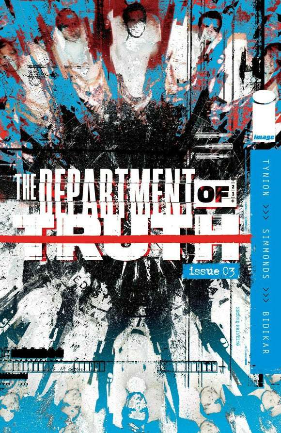 Department of Truth #3 2nd second printing variant