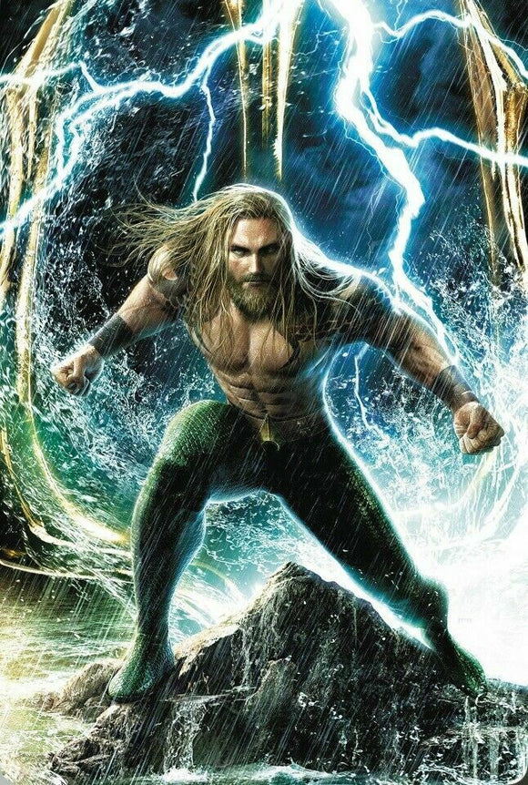 Aquaman #58 Cover B Jeremy Roberts - Mutant Beaver Comics