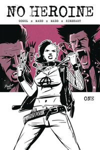 Pre-Order: NO HEROINE #1 First Print! ***RED HOT!*** - Mutant Beaver Comics