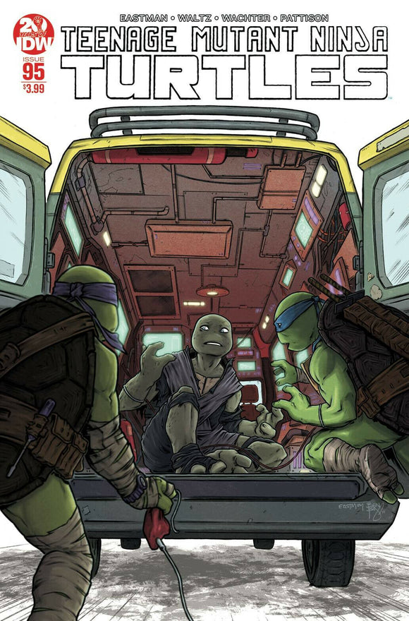 TEENAGE MUTANT NINJA TURTLES #95 2nd Print - Mutant Beaver Comics