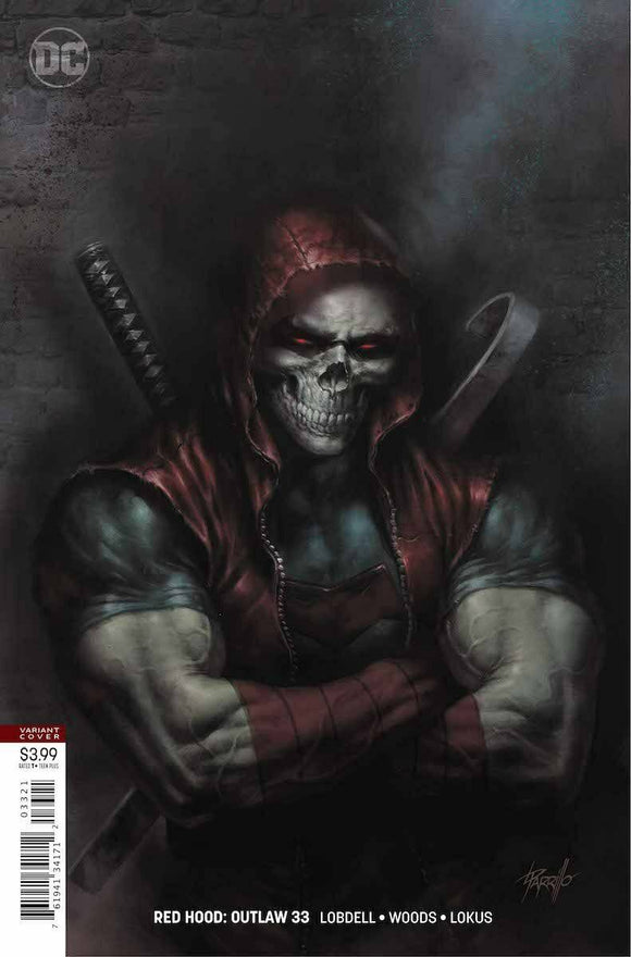 RED HOOD: OUTLAW #33 Lucio Parrillo Variant - Mutant Beaver Comics