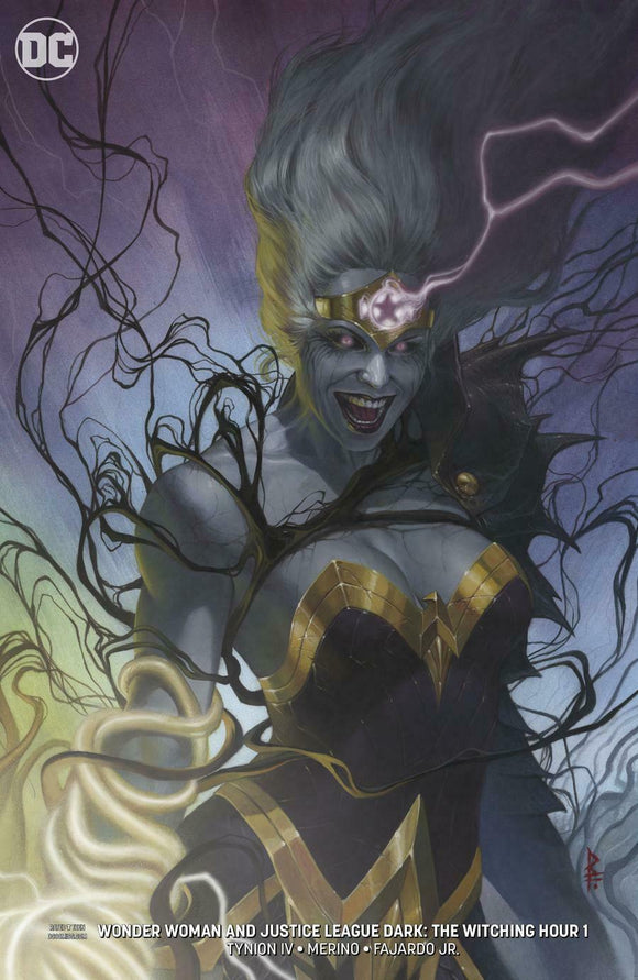 WONDER WOMAN AND JUSTICE LEAGUE DARK: THE WITCHING HOUR #1 Cover B - Mutant Beaver Comics