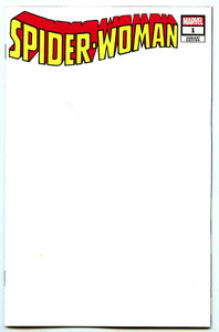 SPIDER-WOMAN #1 SKETCH BLANK - Mutant Beaver Comics