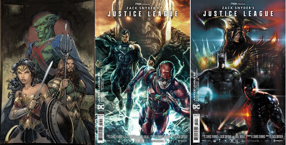 JUSTICE LEAGUE #59 SNYDER CUT VARIANT COVER SET