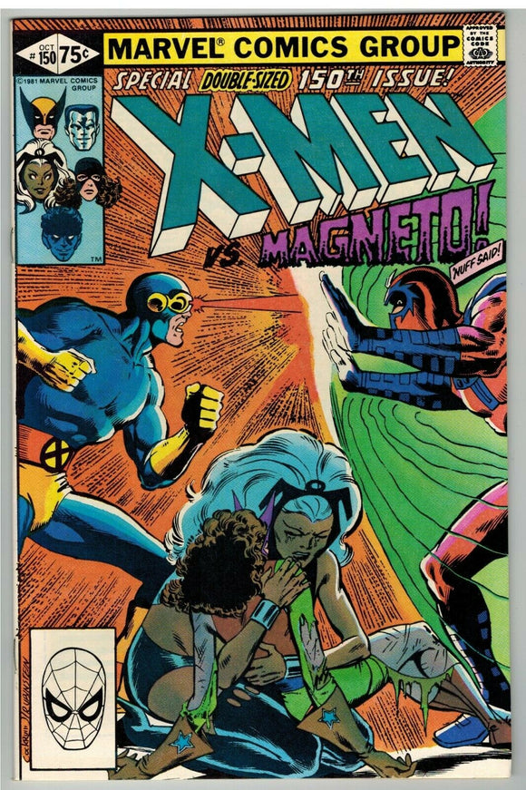 UNCANNY X-MEN #150 Direct Edition (Double-Sized Bronze Age) - Mutant Beaver Comics