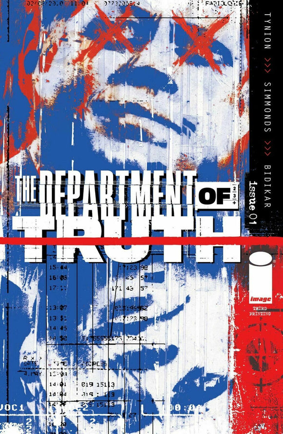 DEPARTMENT OF TRUTH #1 (3rd Print)