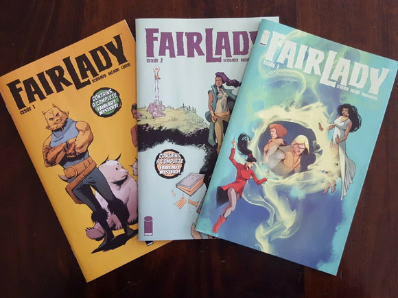FAIRLADY #1-#3 (1st Prints) - Mutant Beaver Comics