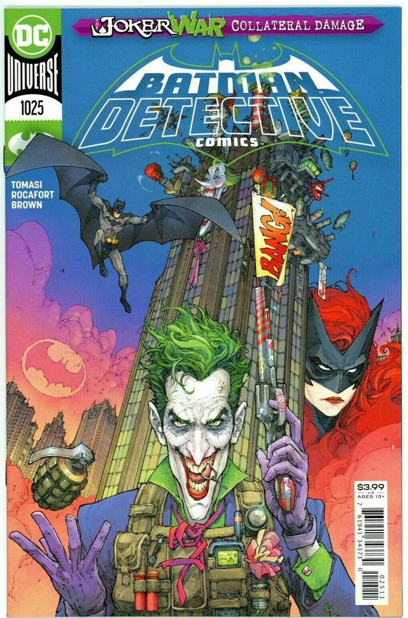 DETECTIVE COMICS #1025 (1st Print) Cover A - JOKER WAR Tie In! - Mutant Beaver Comics