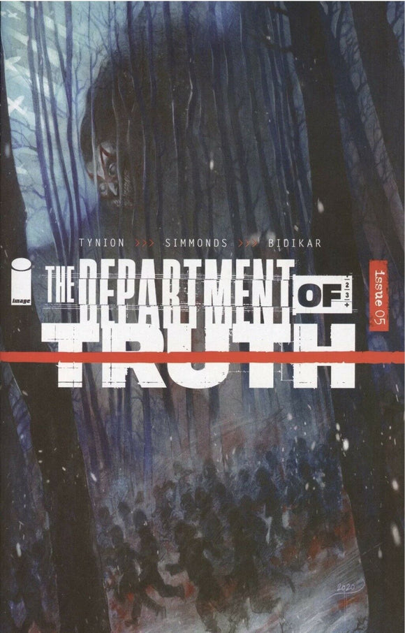 DEPARTMENT OF TRUTH #5 Cover D Turrill