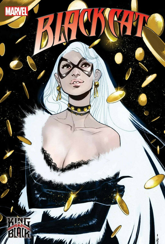 Pre-Order: BLACK CAT #1 SARA PICHELLI 1:25 RATIO VARIANT KIB 12/30/20 - Mutant Beaver Comics