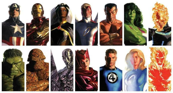 Pre-Order: ALEX ROSS Timeless Variant Set WAVE 1 (Sept 2020) ***14 Books in total*** - Mutant Beaver Comics