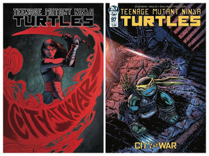 TMNT #97 SET (Cover A & B)  ~ 1st Jennika in costume! - Mutant Beaver Comics