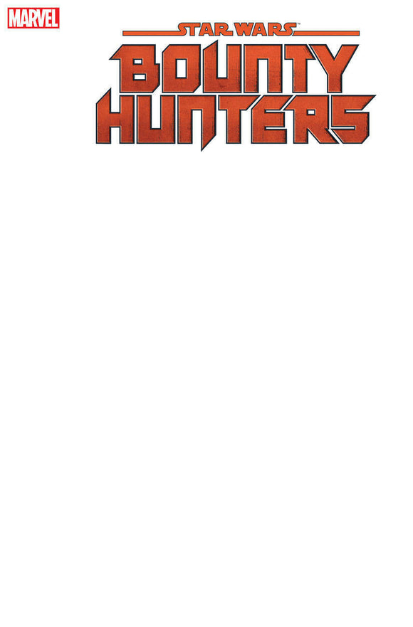 STAR WARS: Bounty Hunters #1 SKETCH BLANK - Mutant Beaver Comics