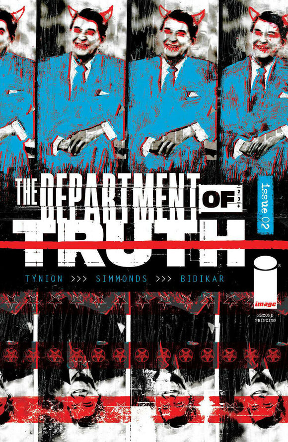 DEPARTMENT OF TRUTH #2 (2nd Print) SIMMONDS
