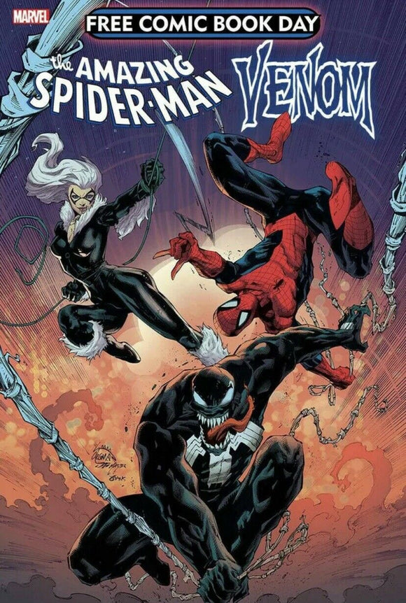FCBD 2020 SPIDER-MAN VENOM #1 Spec Packs! ***Intended 1st App of VIRUS!*** (5 & 10 Packs) - Mutant Beaver Comics