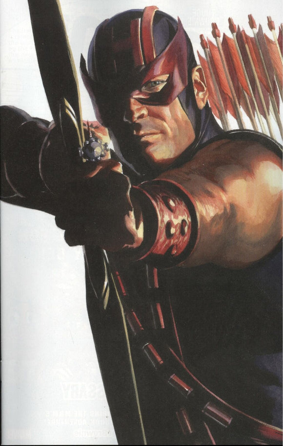 AVENGERS #42 ALEX ROSS HAWKEYE TIMELESS VIRGIN VARIANT
