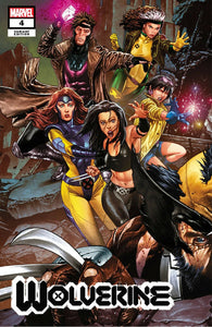 Pre-Order: WOLVERINE #4 Mico Suayan CONNECTING EXCLUSIVE! - Mutant Beaver Comics
