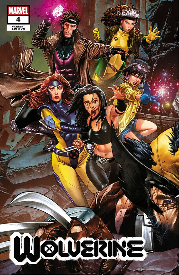 Pre-Order: WOLVERINE #4 Mico Suayan CONNECTING EXCLUSIVE!