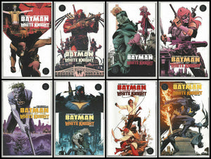 BATMAN: CURSE OF THE WHITE KNIGHT Complete COVER A Set (#1-#8) - Mutant Beaver Comics