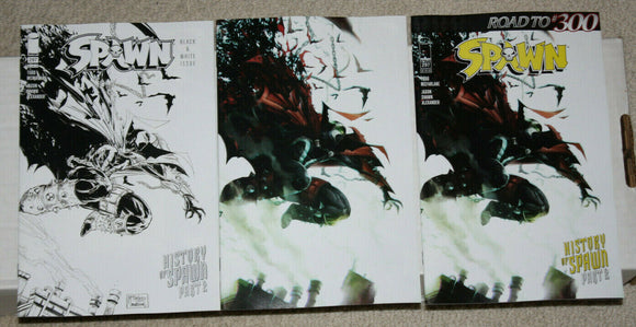 SPAWN #297 Mattina Complete Set (3 Covers) - Mutant Beaver Comics