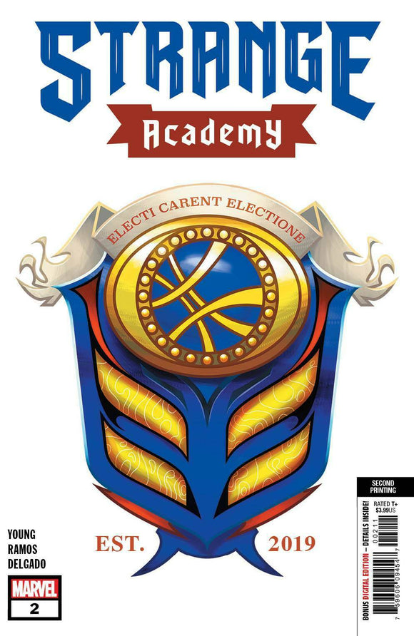 STRANGE ACADEMY #2 Second Print ***IN STOCK!*** - Mutant Beaver Comics