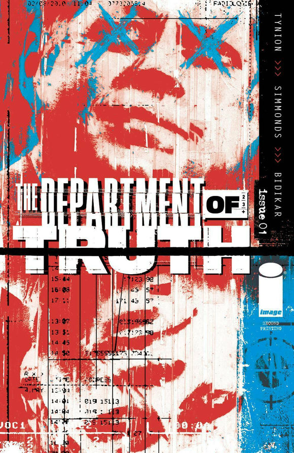 Department Of Truth # 1 Variant 2nd Print - Mutant Beaver Comics