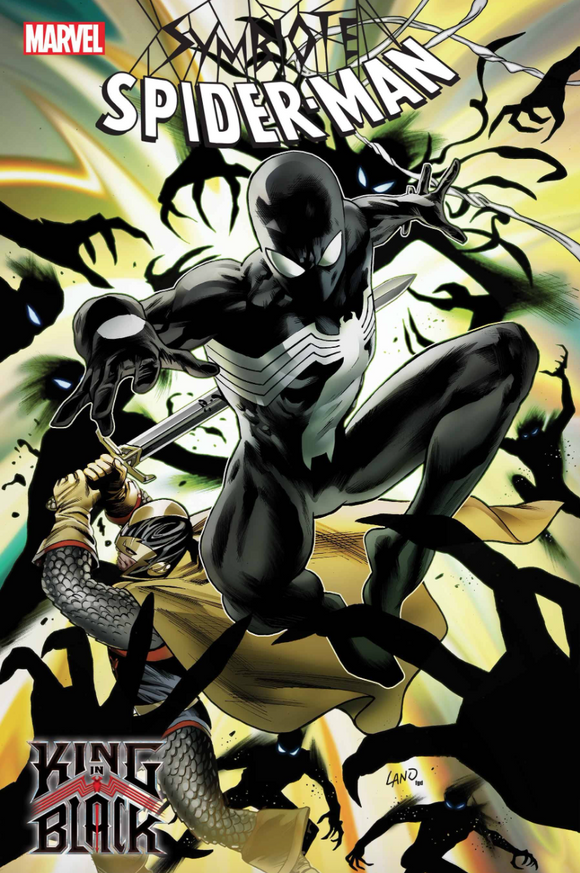 SYMBIOTE SPIDER-MAN KING IN BLACK #2 Cover A Land - Mutant Beaver Comics