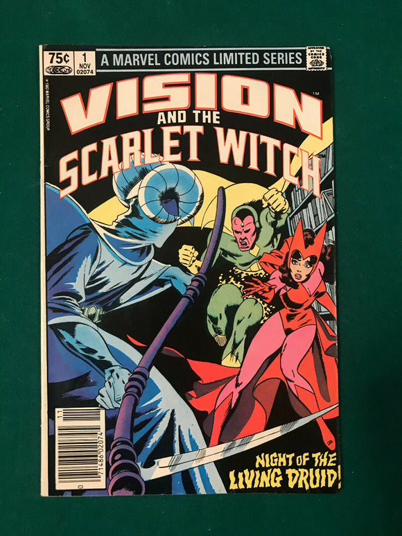 VISION AND SCARLET WITCH #1 NEWSSTAND EDITION - Mutant Beaver Comics