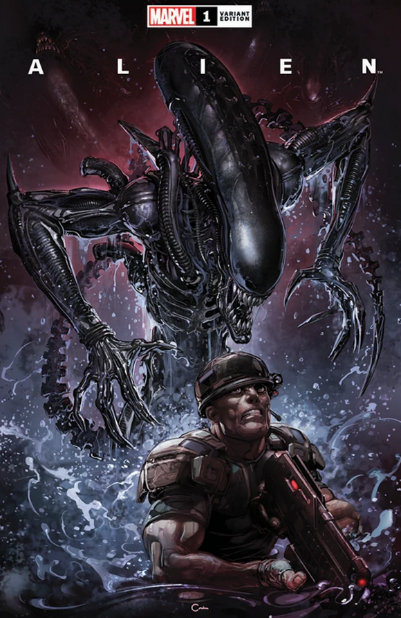 ALIEN #1 Clayton Crain Exclusive!