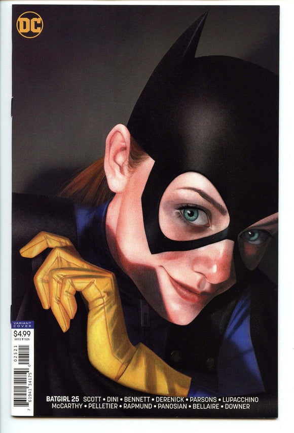 BATGIRL #25 Cover B Middleton - Mutant Beaver Comics