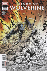 RETURN OF WOLVERINE #1 PREMIERE VARIANT ***Only 2 PER STORE!***