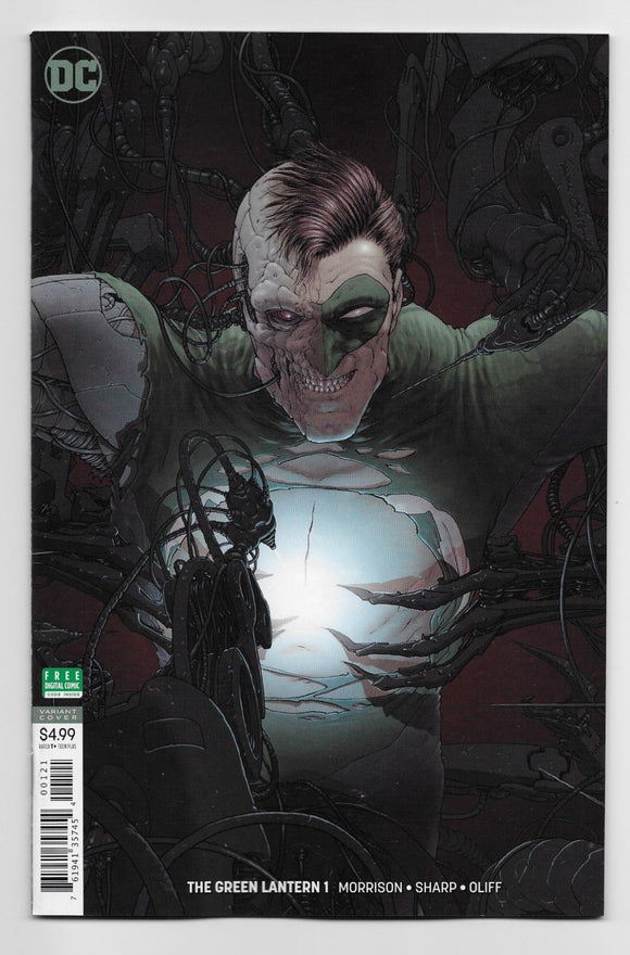 GREEN LANTERN #2 Cover B Frank Quietly