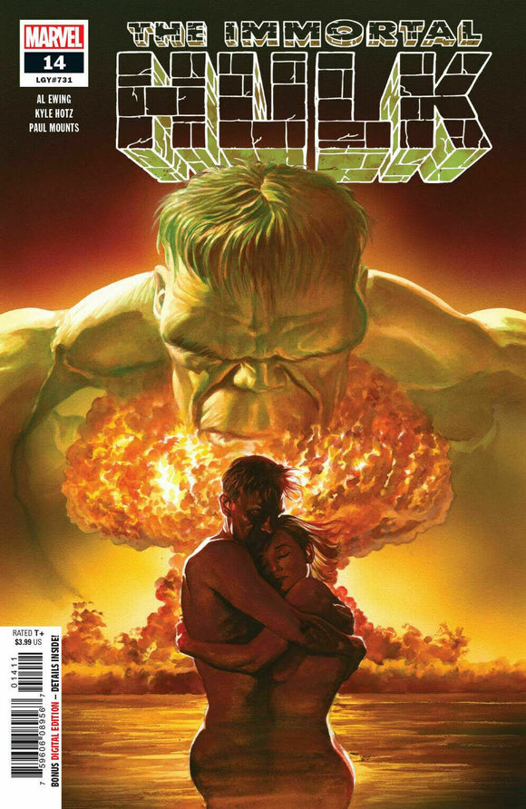 THE IMMORTAL HULK #14 Alex Ross 1st PRINT! - Mutant Beaver Comics
