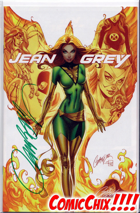 JEAN GREY #1B JSC Exclusive SIGNED (w/COA) by J. SCOTT CAMPBELL - Mutant Beaver Comics