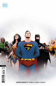JUSTICE LEAGUE #13 Cover B Jae Lee