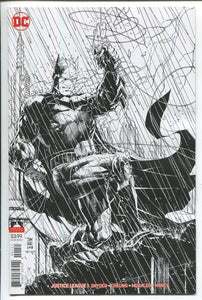 JUSTICE LEAGUE #1 Cover B B/W Jim Lee