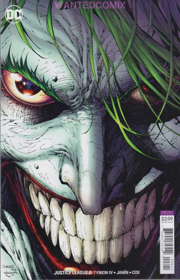 JUSTICE LEAGUE #8 Cover B JIM LEE Joker! ***IN STOCK***