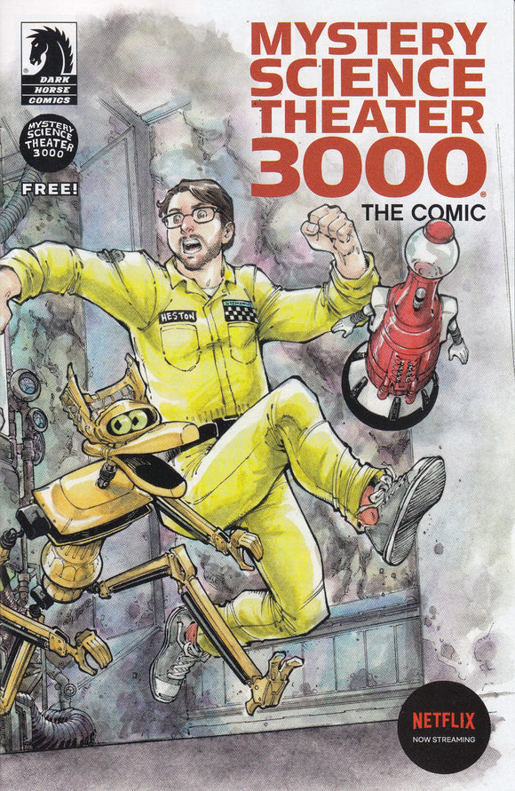ASHCAN Mystery Science Theatre 3000 #1 - Mutant Beaver Comics