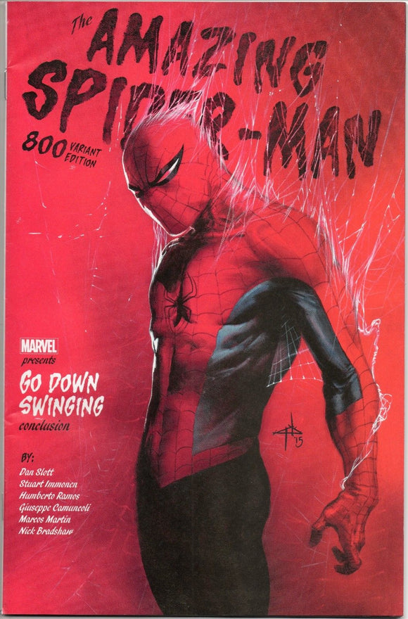 AMAZING SPIDER-MAN #800 DELL 'OTTO VARIANT 1:25